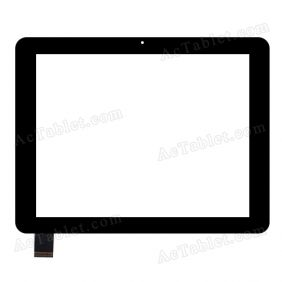 F-WGJ97087-V2 Digitizer Glass Touch Screen Replacement for 9.7 Inch MID Tablet PC