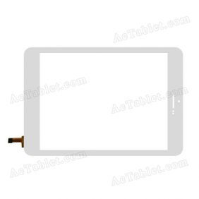 80701-0A4791J Digitizer Glass Touch Screen Replacement for 7.9 Inch MID Tablet PC