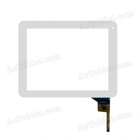 WJ-DR97010-FPC Digitizer Glass Touch Screen Replacement for 9.7 Inch MID Tablet PC