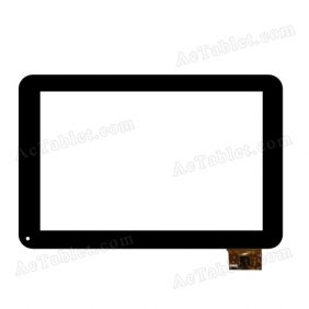 A0207-2-F0-A Digitizer Glass Touch Screen Replacement for 10.1 Inch MID Tablet PC