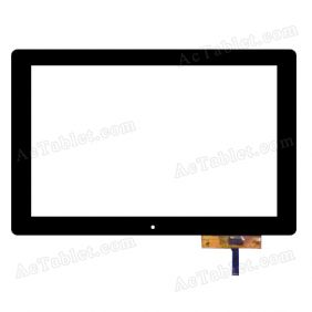 Digitizer Touch Screen Replacement for PendoPad PNDPPW8QK1016BLK 10.1 Inch Tablet PC
