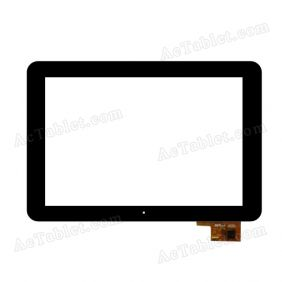 300-L4096G-A00 Digitizer Glass Touch Screen Replacement for 10.1 Inch MID Tablet PC