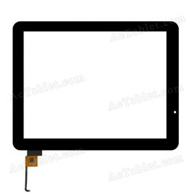 STC0096A2 YD Digitizer Glass Touch Screen Replacement for 9.7 Inch MID Tablet PC