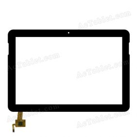 RS-M101-VER4.0 Digitizer Glass Touch Screen Replacement for 10.1 Inch MID Tablet PC