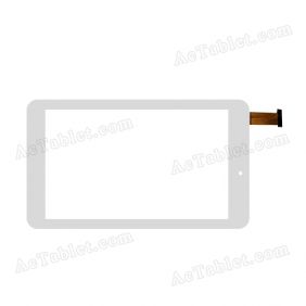 F-WGJ70552-V2 Digitizer Glass Touch Screen Replacement for 7 Inch MID Tablet PC