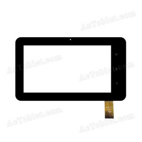 WJ665-V1.0 Digitizer Glass Touch Screen Replacement for 7 Inch MID Tablet PC