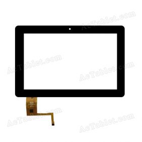 YTG-G10055-F1 V1.1 Digitizer Glass Touch Screen Replacement for 10.1 Inch MID Tablet PC