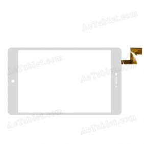 YTG-G10055-F1 V1.1 Digitizer Glass Touch Screen Replacement for 8 Inch MID Tablet PC