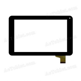 WJ357-v1.0 Digitizer Glass Touch Screen Replacement for 7 Inch MID Tablet PC