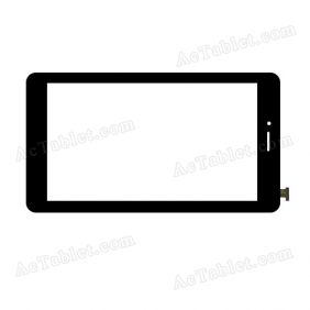 WJ697-FPC-V2.0 Digitizer Glass Touch Screen Replacement for 7 Inch MID Tablet PC