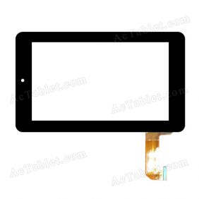 NJG070111AEG0B-V1 Digitizer Glass Touch Screen Replacement for 7 Inch MID Tablet PC