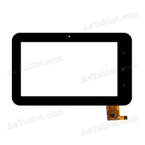 TOPSUN_C0083_A1 Digitizer Glass Touch Screen Replacement for 7 Inch MID Tablet PC