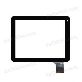 Z8Z293 V5.0 Digitizer Glass Touch Screen Replacement for 8 Inch MID Tablet PC