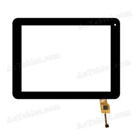 04-0800-0140 Digitizer Glass Touch Screen Replacement for 8 Inch MID Tablet PC