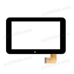 Z7Z61-V2.0 Digitizer Glass Touch Screen Replacement for 7 Inch MID Tablet PC