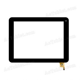04-0970-0938 V1 Digitizer Glass Touch Screen Replacement for 9.7 Inch MID Tablet PC