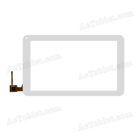 80701-0B52538 Digitizer Glass Touch Screen Replacement for 10.1 Inch MID Tablet PC