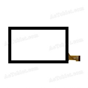 RY052B Digitizer Glass Touch Screen Replacement for 7 Inch MID Tablet PC