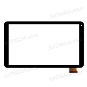 RS-GX101-V6.0 J Digitizer Glass Touch Screen Replacement for 10.1 Inch MID Tablet PC