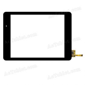 RS8F382-V2.1 Digitizer Glass Touch Screen Replacement for 7.9 Inch MID Tablet PC