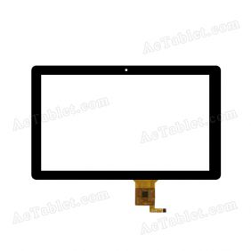 CTP187-101-A Digitizer Glass Touch Screen Replacement for 10.1 Inch MID Tablet PC