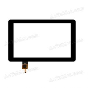 F-70708-V1A Digitizer Glass Touch Screen Replacement for 7 Inch MID Tablet PC
