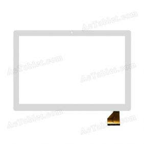 F-WGJ10164-V1 Digitizer Glass Touch Screen Replacement for 10.1 Inch MID Tablet PC