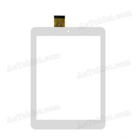 FPC-CY080079-00 Digitizer Glass Touch Screen Replacement for 8 Inch MID Tablet PC