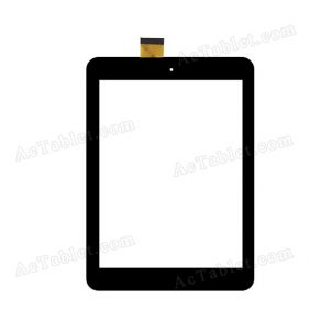 A8000212FPVA YK807P-0425-xrd Digitizer Glass Touch Screen Replacement for 8 Inch MID Tablet PC