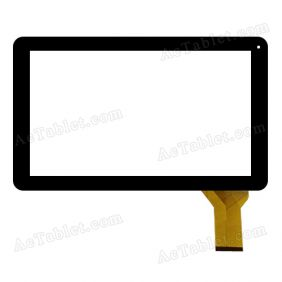 CTP-0204 Digitizer Glass Touch Screen Replacement for 10.1 Inch MID Tablet PC