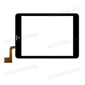 AD-C-802101-FPC Digitizer Glass Touch Screen Replacement for 8 Inch MID Tablet PC