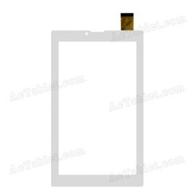 ZJ-70110A Digitizer Glass Touch Screen Replacement for 7 Inch MID Tablet PC
