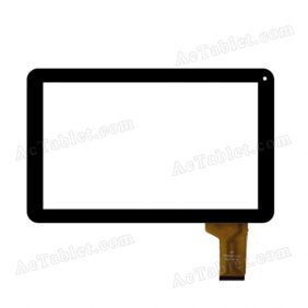 TP101057-V1.0 2013-12-05 FHX Digitizer Glass Touch Screen Replacement for 10.1 Inch MID Tablet PC