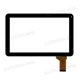 ZHC-262A Digitizer Glass Touch Screen Replacement for 10.1 Inch MID Tablet PC