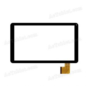 QSD 701-10071-01 Digitizer Glass Touch Screen Replacement for 10.1 Inch MID Tablet PC