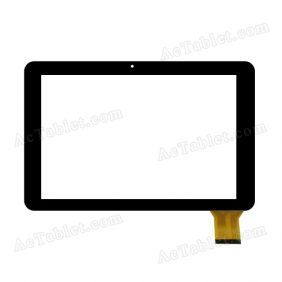 ZHC-286A Digitizer Glass Touch Screen Replacement for 10.1 Inch MID Tablet PC