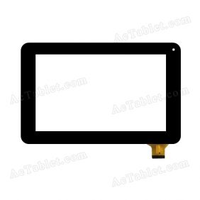 CTP-0132-R1 Digitizer Glass Touch Screen Replacement for 7 Inch MID Tablet PC