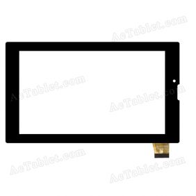MTCTP-7056 Digitizer Glass Touch Screen Replacement for 7 Inch MID Tablet PC