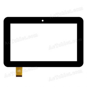YTG-G70061-F1 Digitizer Glass Touch Screen Replacement for 7 Inch MID Tablet PC