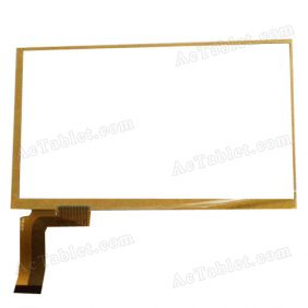 WTP723C-R01B Digitizer Glass Touch Screen Replacement for 7 Inch MID Tablet PC