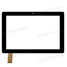 Digitizer Touch Screen Replacement for PendoPad PNDPPW8QK10BLK 10.1 Inch Tablet PC
