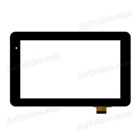 C7000175FPVA Digitizer Glass Touch Screen Replacement for 7 Inch MID Tablet PC