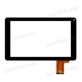 YJ160FPC-V0 VO Digitizer Glass Touch Screen Replacement for 9 Inch MID Tablet PC