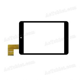 Digitizer Touch Screen Replacement for Hipstreet Vanguard 2 7.85 Inch Quad Core Tablet PC