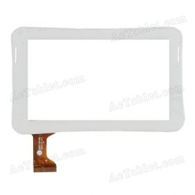 ZHC-244B Digitizer Glass Touch Screen Replacement for Android Tablet PC