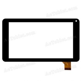 MJK-0256 Digitizer Glass Touch Screen Replacement for 7 Inch Tablet PC