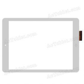 YTG-G97026-F1 V1.1 Digitizer Glass Touch Screen Replacement for 9.7 Inch MID Tablet PC