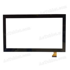XCL-S65001A-FPC3.0 Digitizer Glass Touch Screen Replacement for 6.5 Inch MID Tablet PC