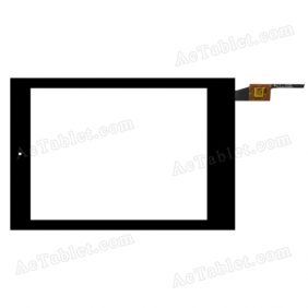 EE0080322 FP1 V03 Digitizer Glass Touch Screen Replacement for 7.9 Inch MID Tablet PC