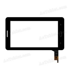 YCF0206 IITP Digitizer Glass Touch Screen Replacement for 7 Inch MID Tablet PC